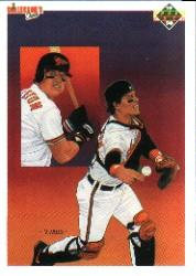 1990 Upper Deck #60B Mickey Tettleton TC/COR (683 Mickey Weston)