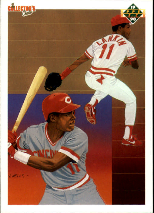 1990 Upper Deck #99 Barry Larkin TC