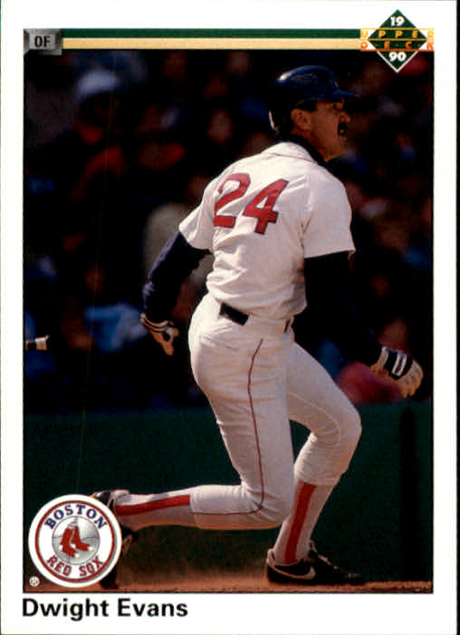 1990 Upper Deck #112 Dwight Evans