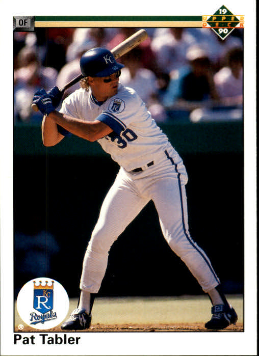 1990 Upper Deck #142 Pat Tabler