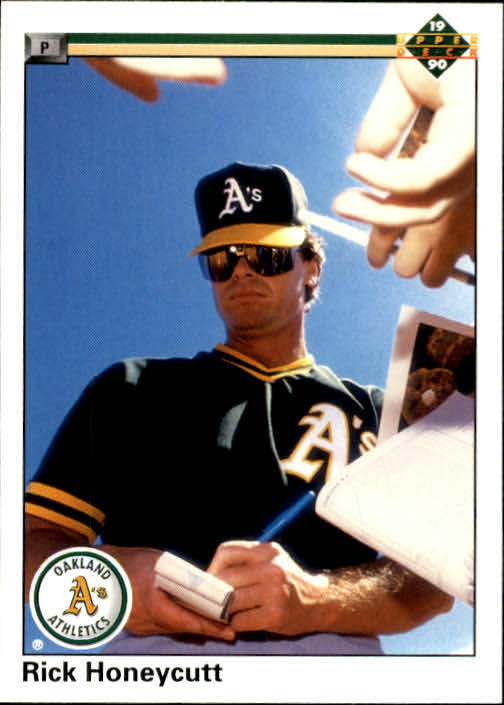 1990 Upper Deck #151 Rick Honeycutt