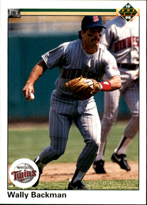 1990 Upper Deck #158 Wally Backman
