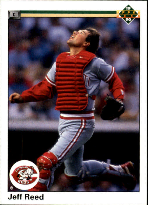 1990 Upper Deck #165 Jeff Reed