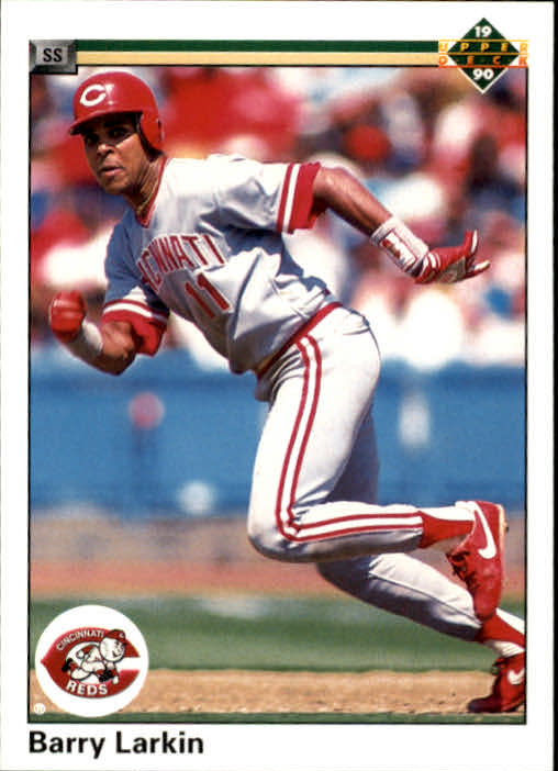 1990 Upper Deck #167 Barry Larkin
