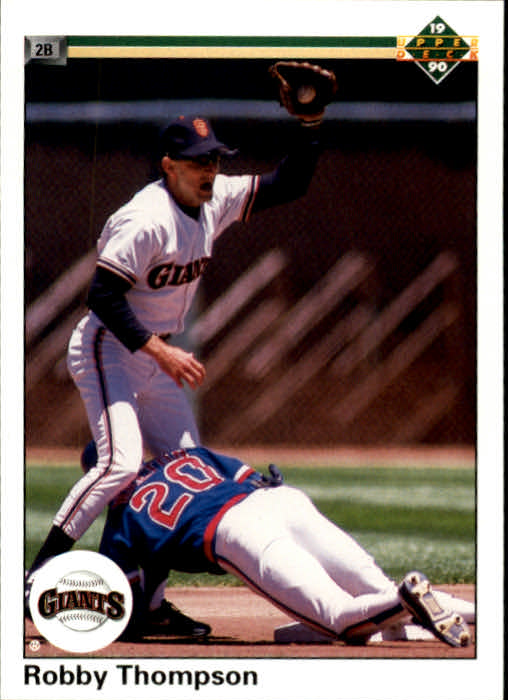 1990 Upper Deck #169 Robby Thompson