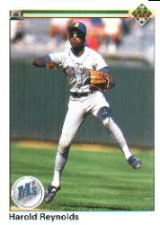 1990 Upper Deck #179 Harold Reynolds