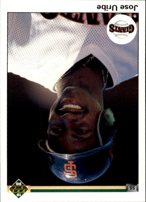 1990 Upper Deck #188 Jose Uribe