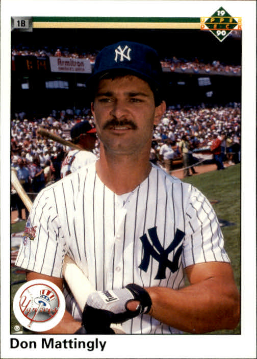 1990 Upper Deck #191 Don Mattingly