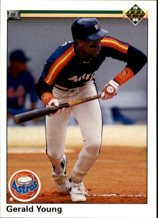 1990 Upper Deck #196 Gerald Young