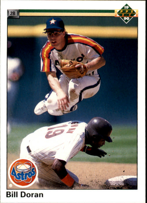 1990 Upper Deck #198 Bill Doran