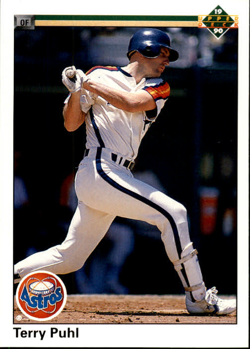 1990 Upper Deck #201 Terry Puhl