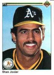 1990 Upper Deck #209 Stan Javier