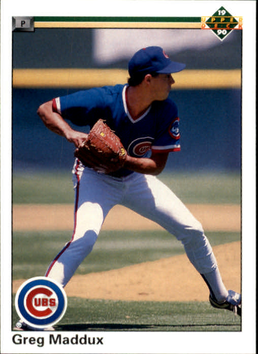 1990 Upper Deck #213 Greg Maddux