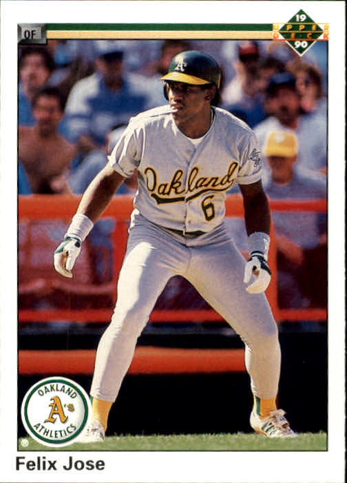1990 Upper Deck #228 Felix Jose