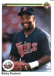 1990 Upper Deck #236 Kirby Puckett UER/(824 games, should/be 924)
