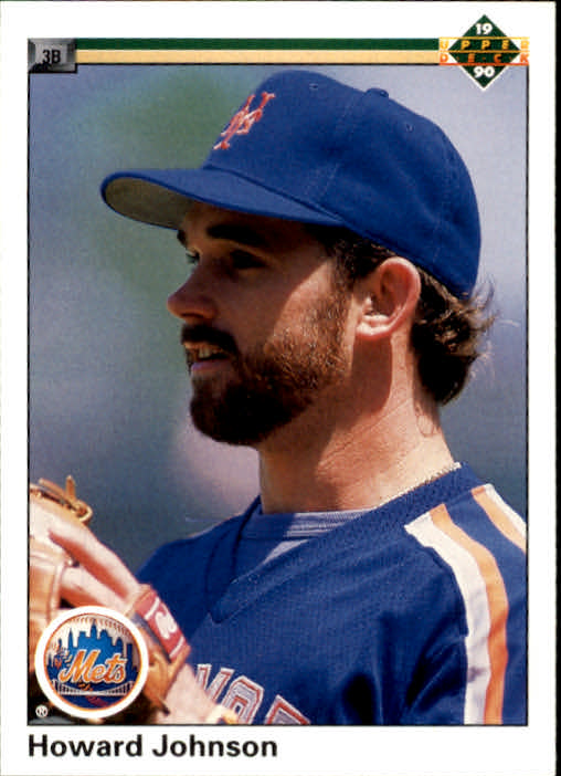 1990 Upper Deck #263 Howard Johnson UER/(192 SO, should be 592)