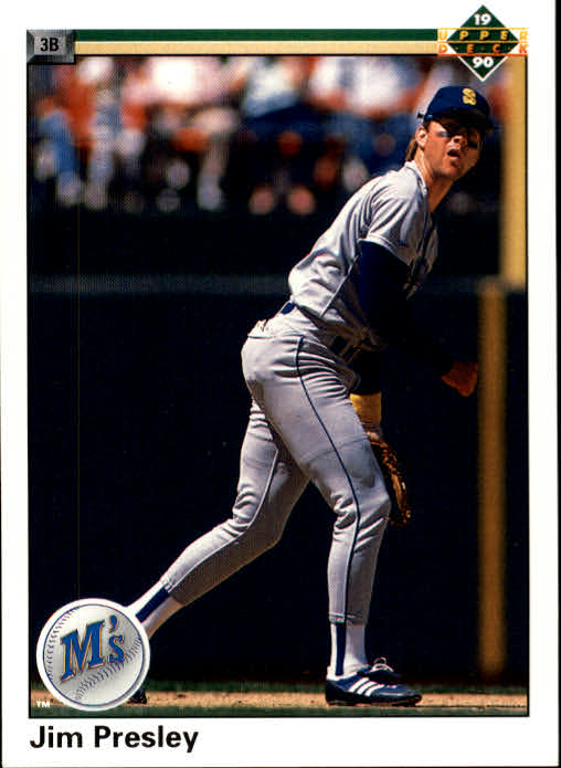 1990 Upper Deck #315 Jim Presley