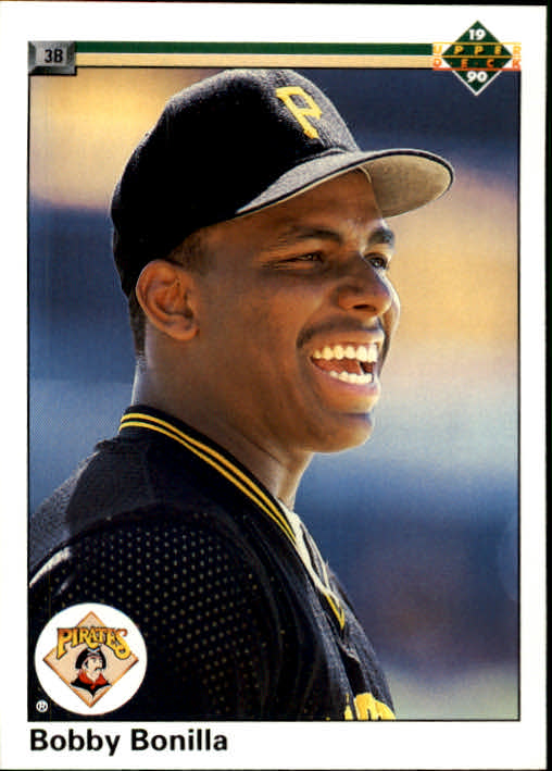 1990 Upper Deck #366 Bobby Bonilla UER/(Two steals in 1987,/should be 3)