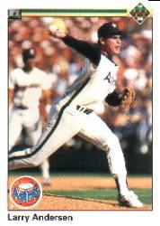 1990 Upper Deck #407 Larry Andersen