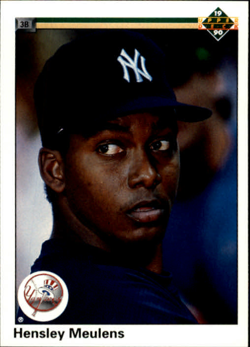1990 Upper Deck #546 Hensley Meulens