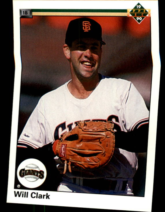 1990 Upper Deck #556 Will Clark