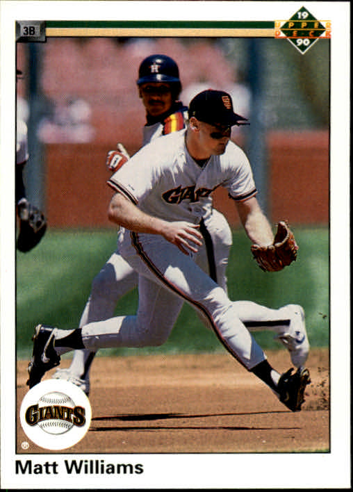 1990 Upper Deck #577 Matt Williams