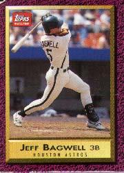 1990-93 Topps Magazine #61 Jeff Bagwell