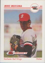 1991 Line Drive AAA #462 Mike Mussina