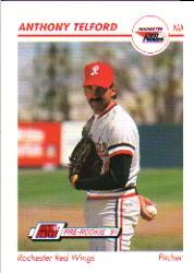 1991 Line Drive AAA #470 Anthony Telford