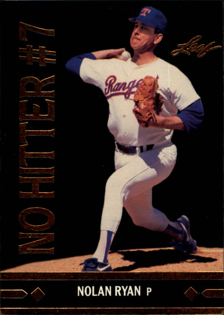 1991 Leaf Gold Rookies #BC25 Nolan Ryan DP