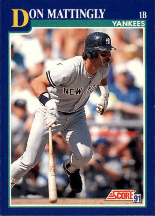 1991 Score #23 Don Mattingly