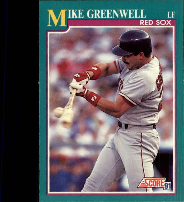 1991 Score #130 Mike Greenwell