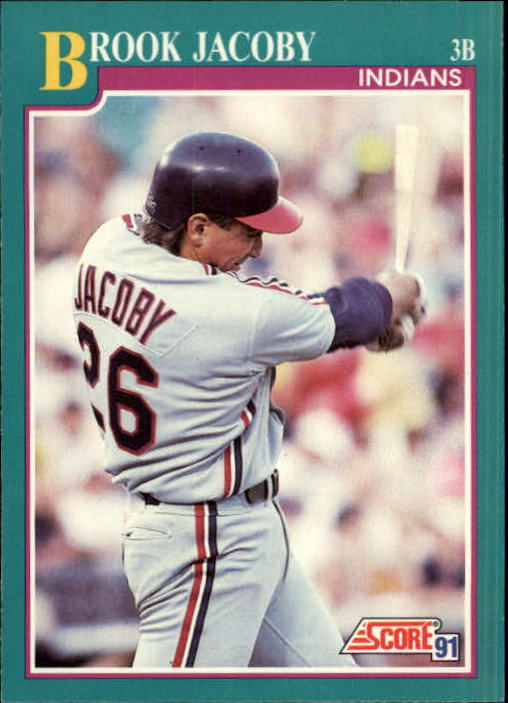 1991 Score #162 Brook Jacoby