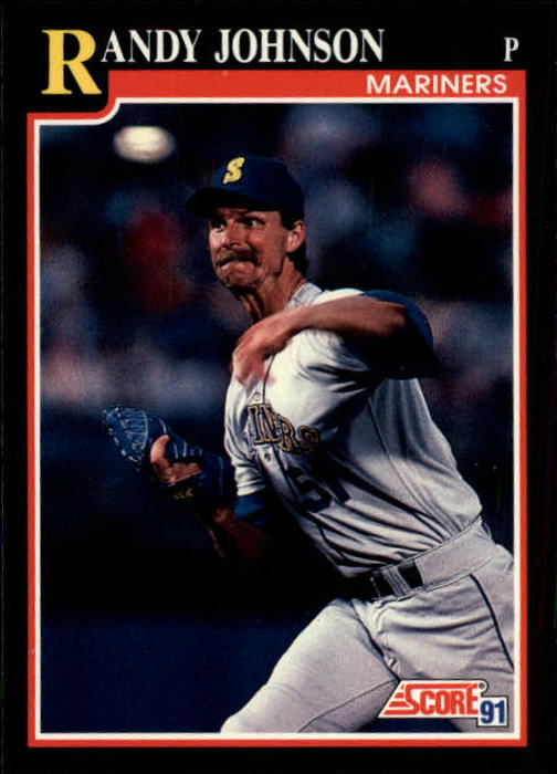 1991 Score #290 Randy Johnson