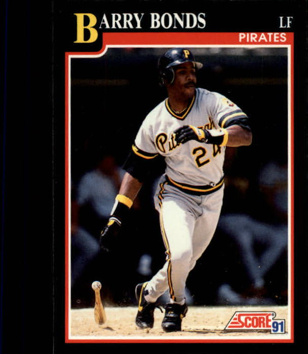 1991 Score #330 Barry Bonds