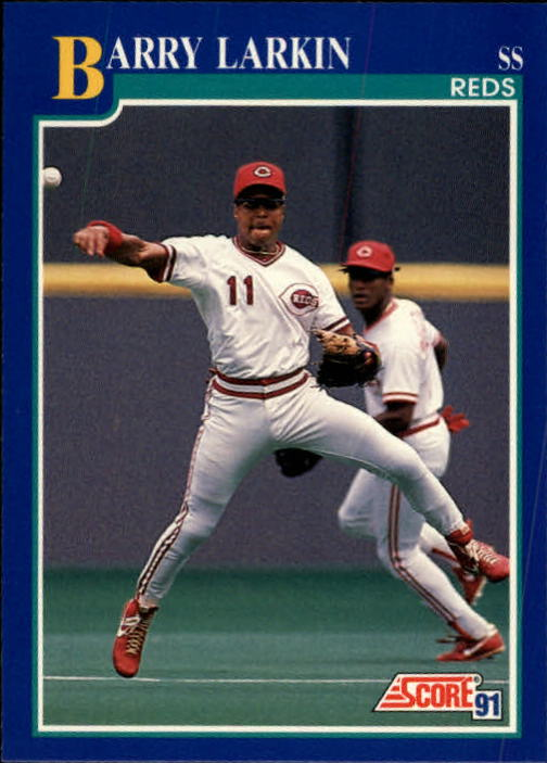 1991 Score #505 Barry Larkin