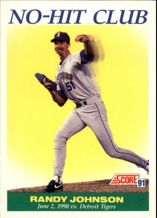 1991 Score #700 Randy Johnson NH