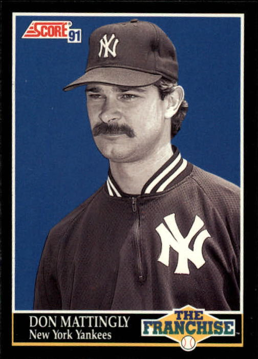 1991 Score #856 Don Mattingly FRAN