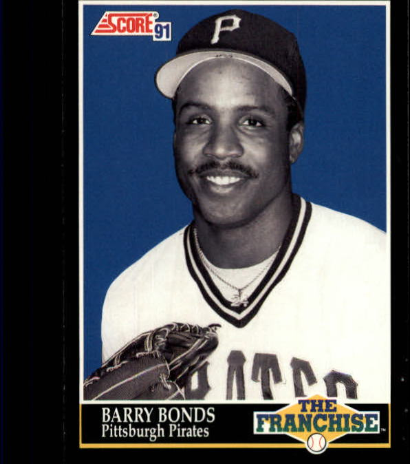 1991 Score #868 Barry Bonds FRAN