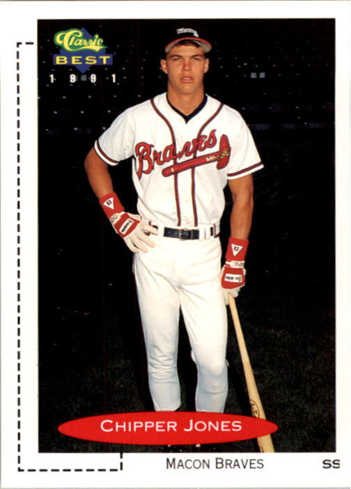 1991 Classic/Best #268 Chipper Jones