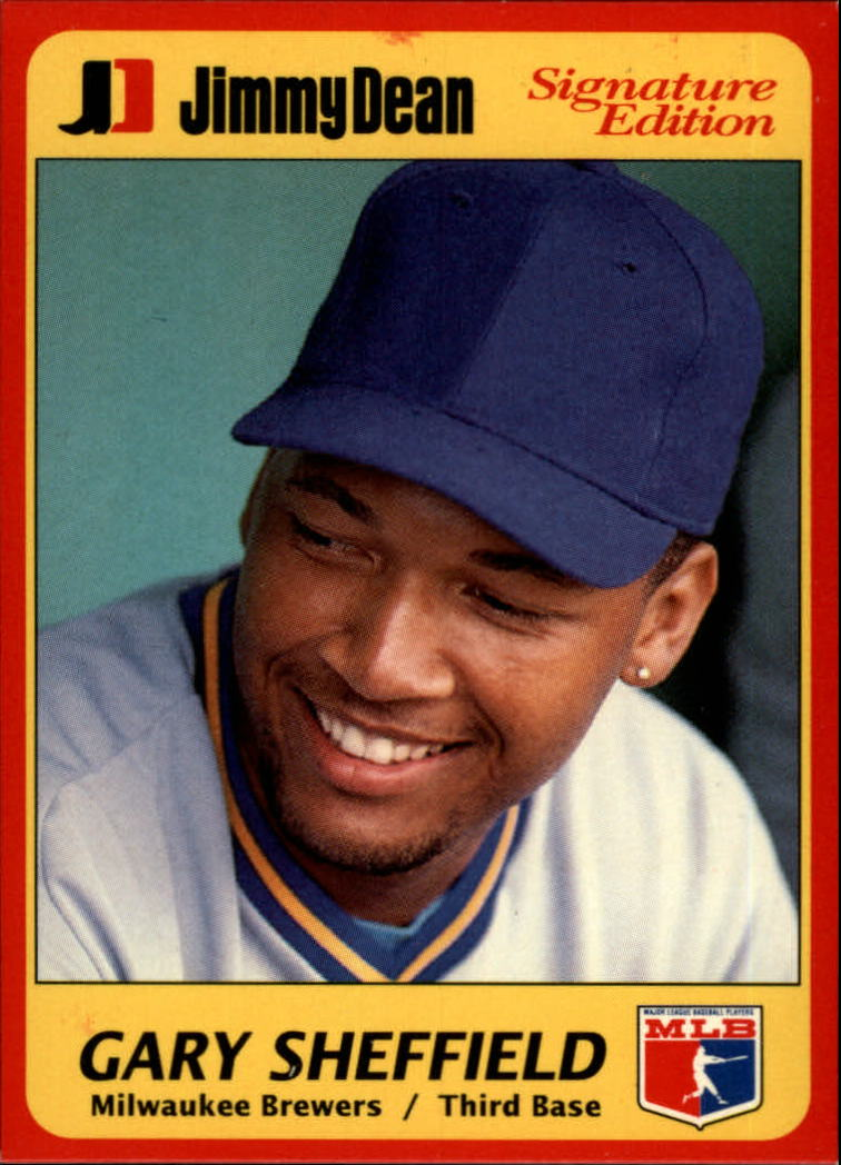 1991 Jimmy Dean #7 Gary Sheffield