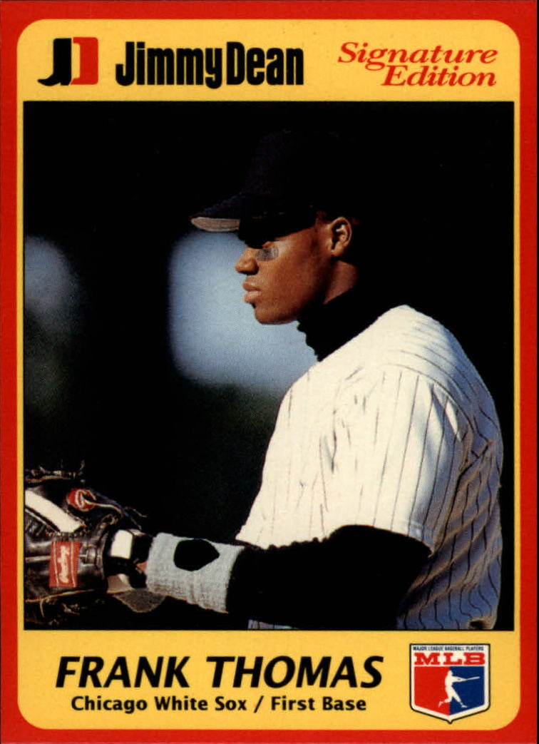 1991 Jimmy Dean #9 Frank Thomas