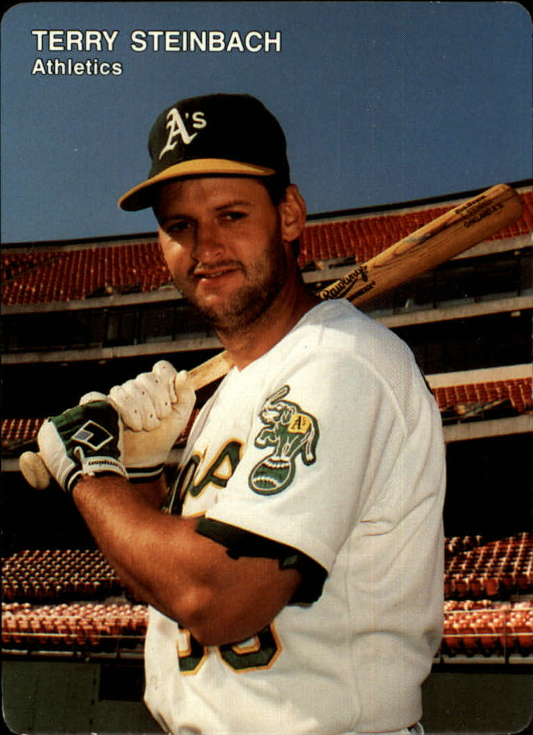 1991 A's Mother's #3 Terry Steinbach