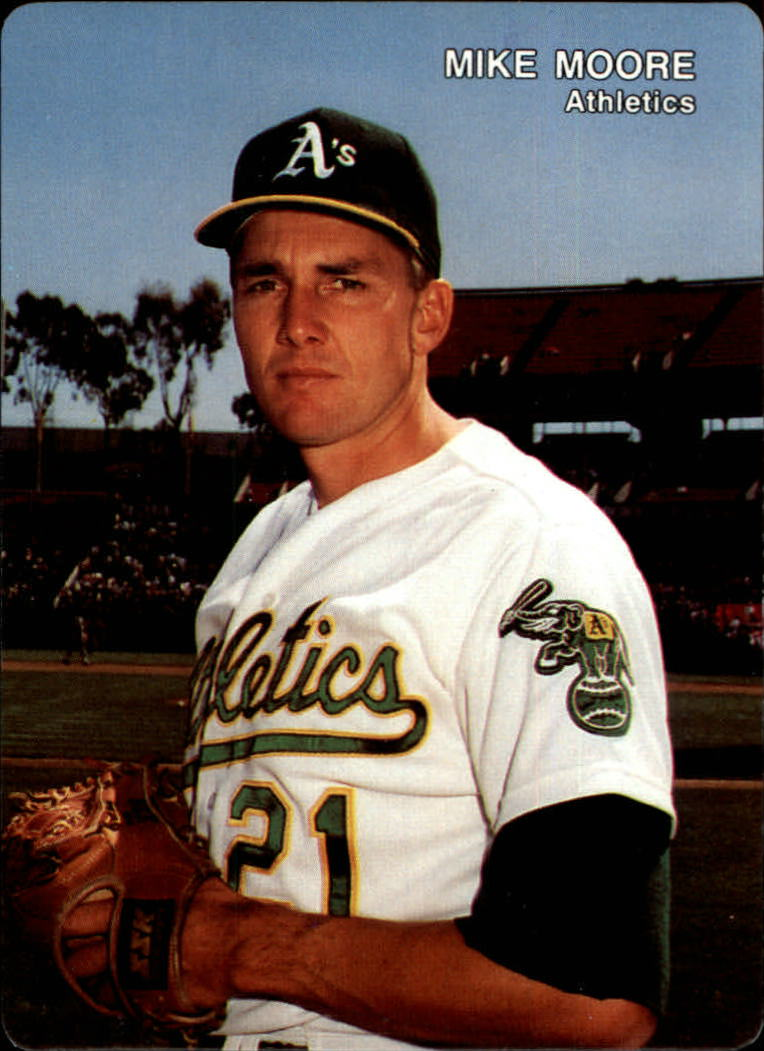 1991 A's Mother's #11 Mike Moore