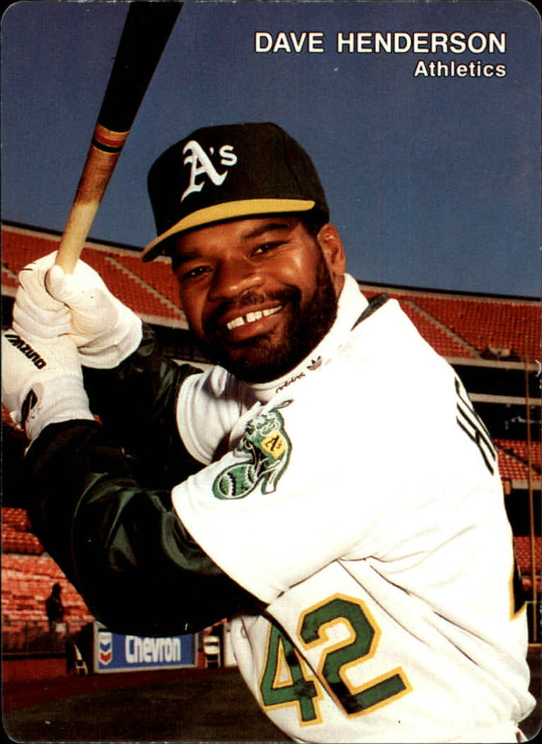 1991 A's Mother's #18 Dave Henderson