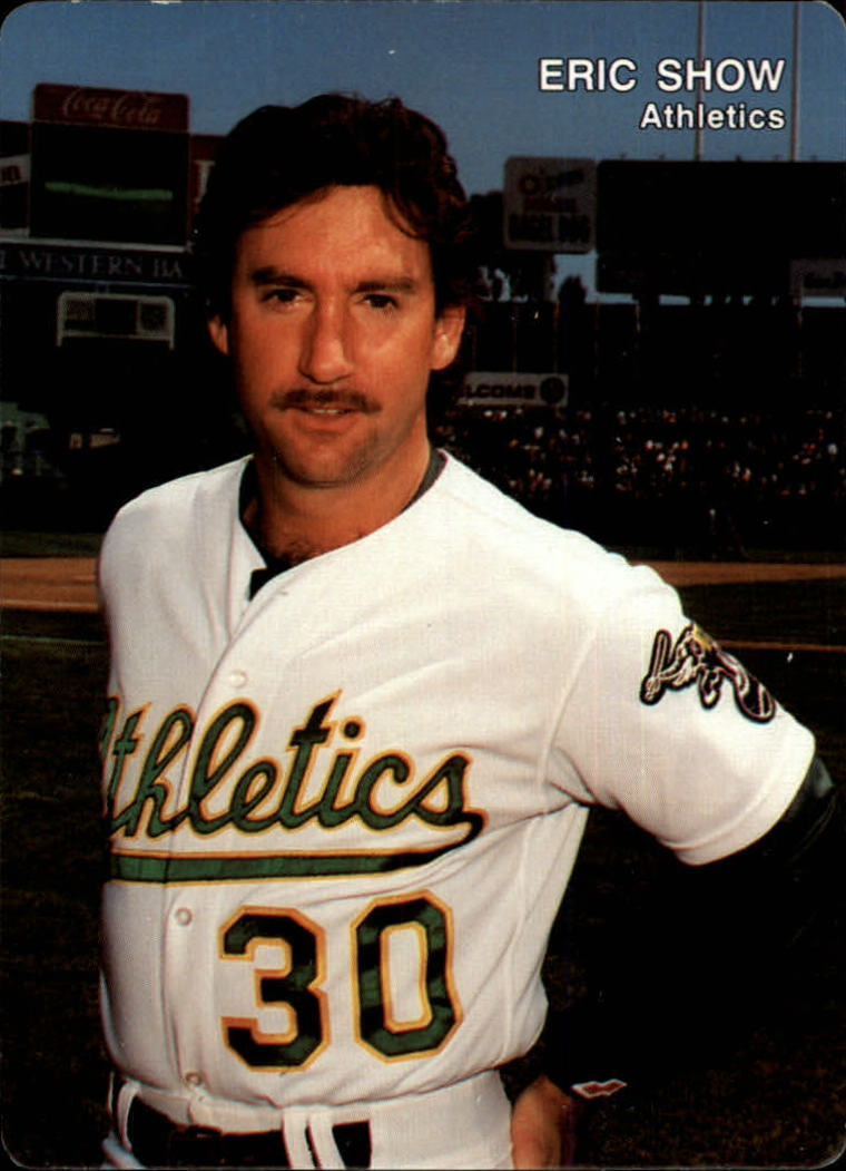 1991 A's Mother's #23 Eric Show