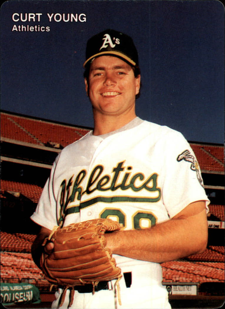 1991 A's Mother's #24 Curt Young