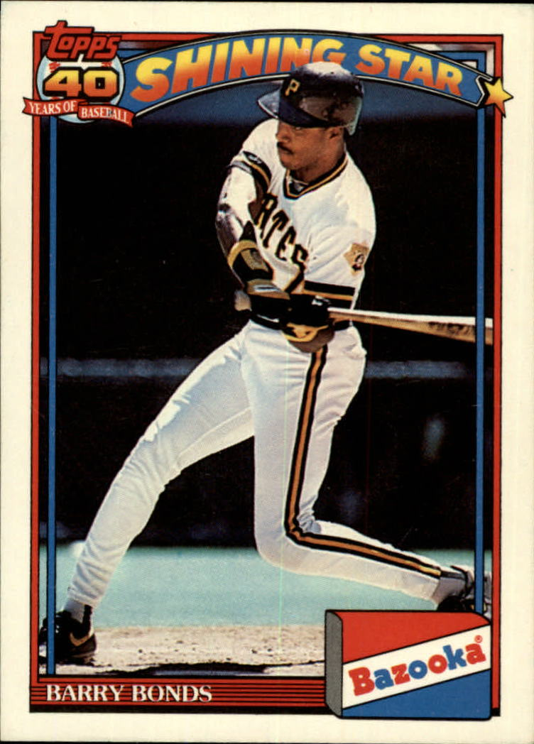 1991 Bazooka #1 Barry Bonds