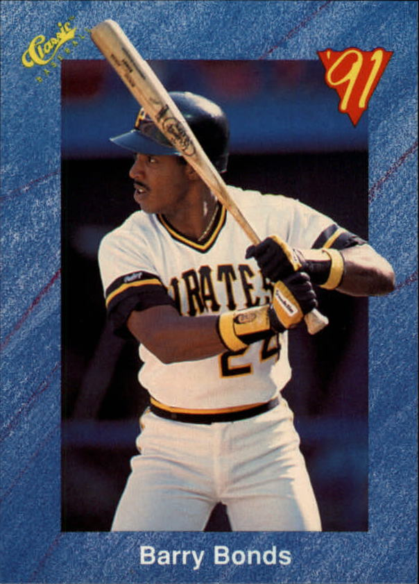 1991 Classic I #T81 Barry Bonds