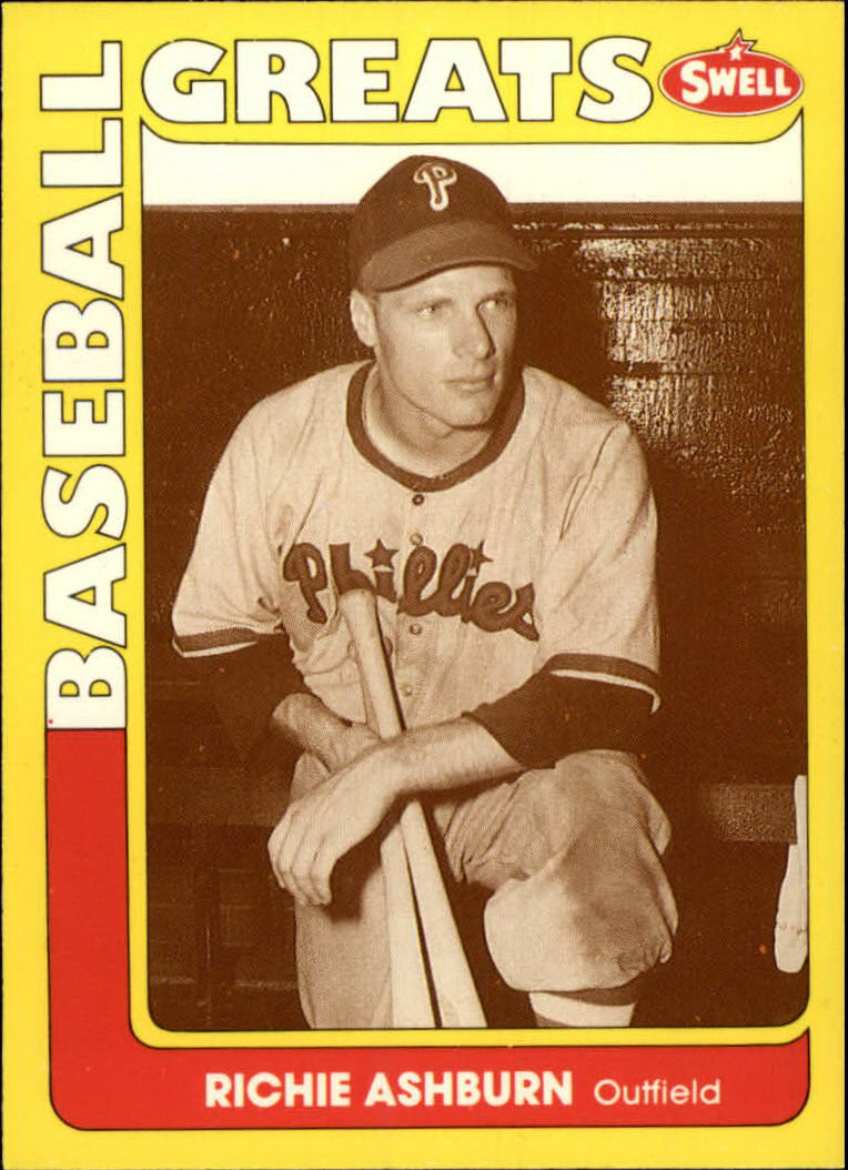 1991 Swell Baseball Greats #4 Richie Ashburn